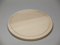 Round board with groove