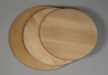 Round turning board