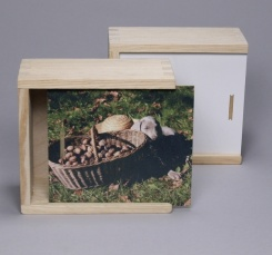Wooden boxes with sliding lid for sublimation