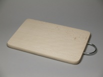 Rectangle board with metal handle