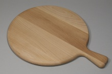 Round boards with handle - pizza board