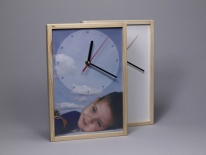 Clock for sublimation